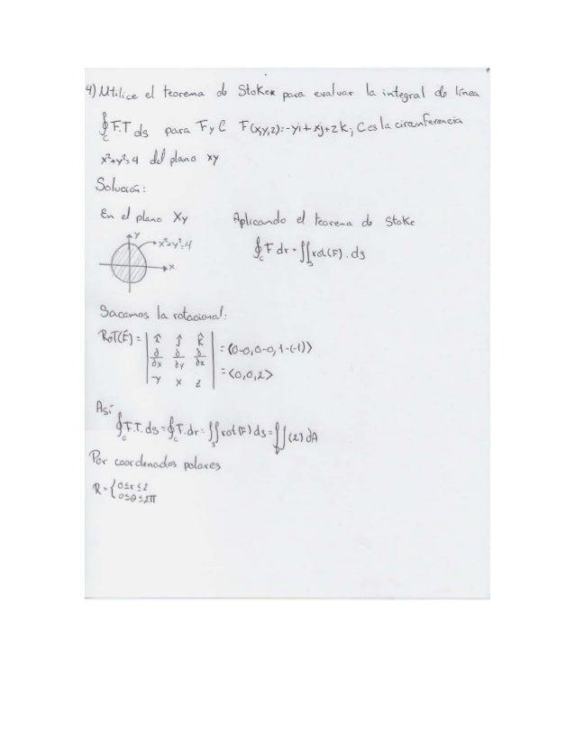 Ejercicios calculo n3