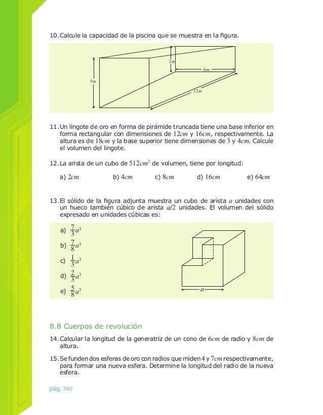 Ejercicios cap 008 for Calcular volumen piscina