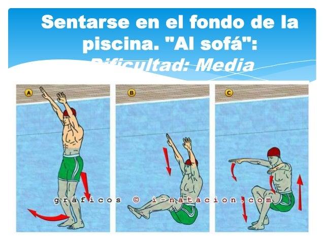 Ejercicios de adaptaci n al medio acu tico for Ejercicios en la piscina