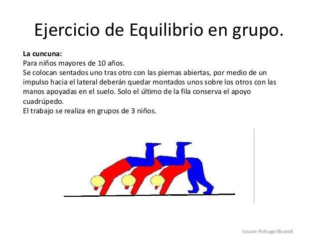 Ejercicios De Equilibrio En Grupo