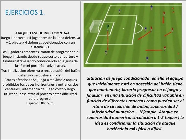Ejercicios de futbol chico Slide 2