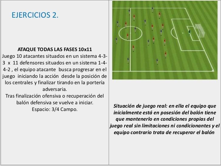 Ejercicios de futbol chico Slide 3