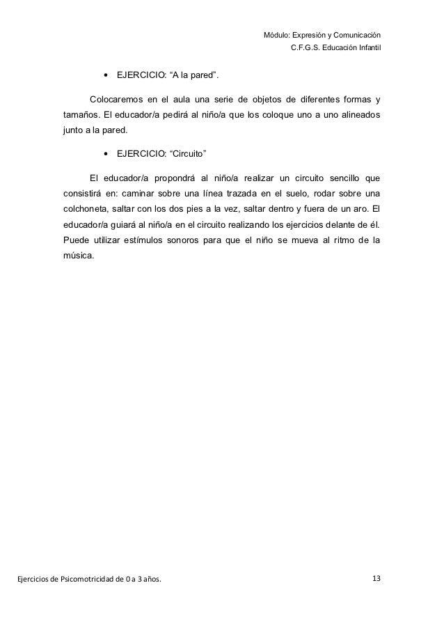 Módulo: Expresión y Comunicación                                                                         C.F.G.S. Educació...
