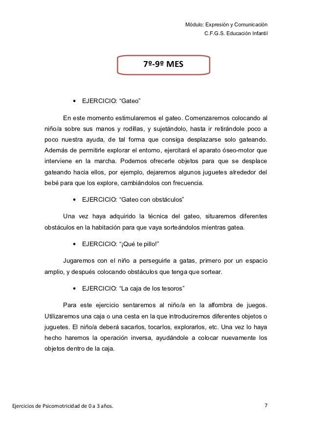 Módulo: Expresión y Comunicación                                                                           C.F.G.S. Educac...