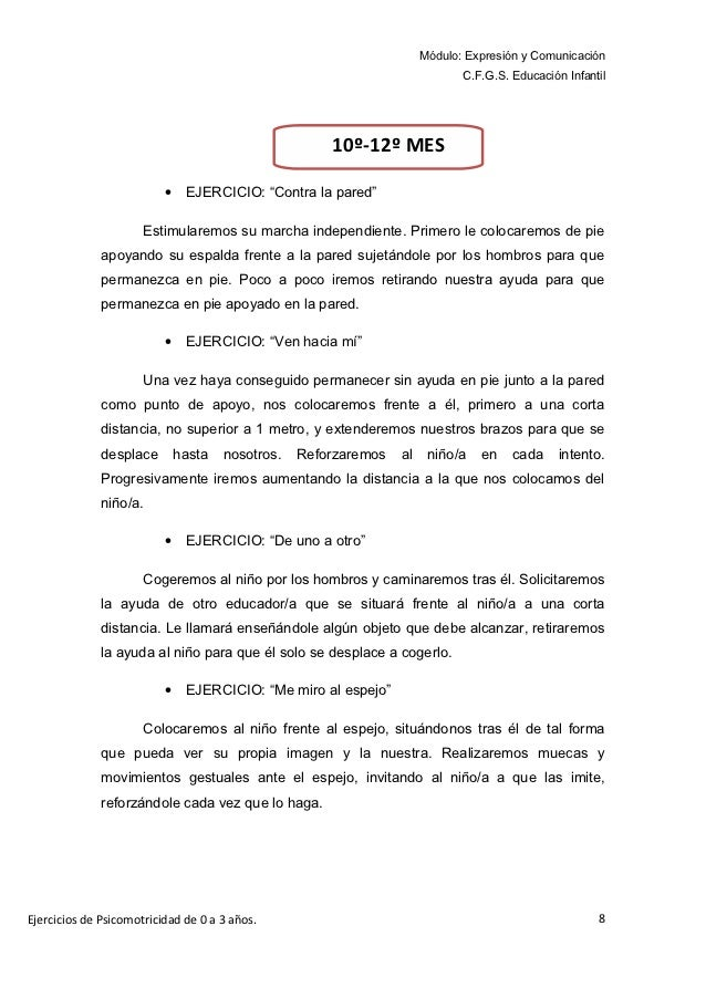 Módulo: Expresión y Comunicación                                                                             C.F.G.S. Educ...