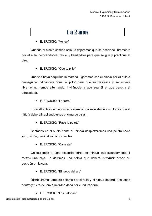 Módulo: Expresión y Comunicación                                                                          C.F.G.S. Educaci...