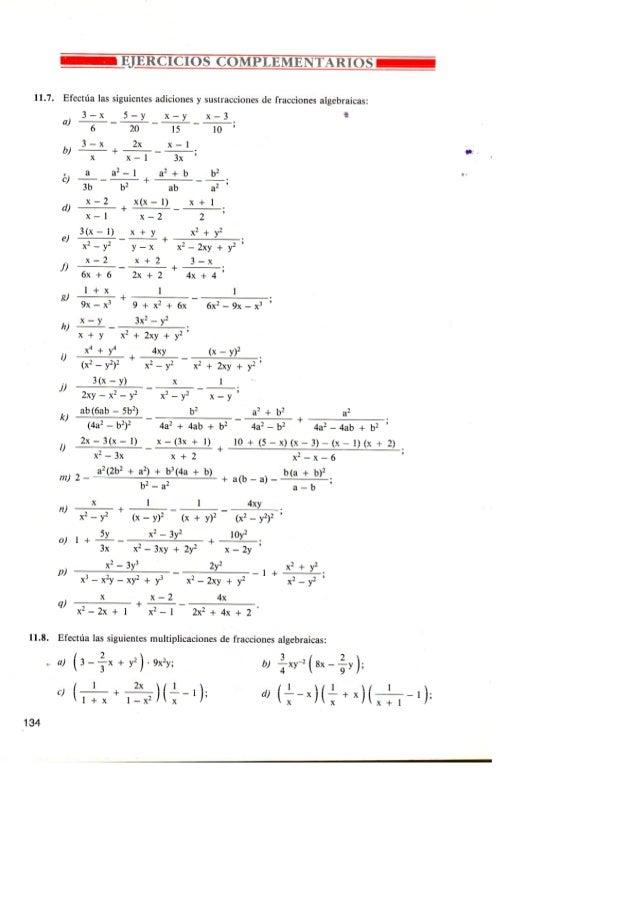 Ejercicios razonesalgebraicas complementarios-1ºbachccss
