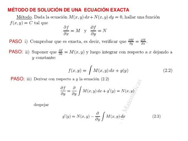 EDO EXACTAS EJERCICIOS RESUELTOS PDF DOWNLOAD