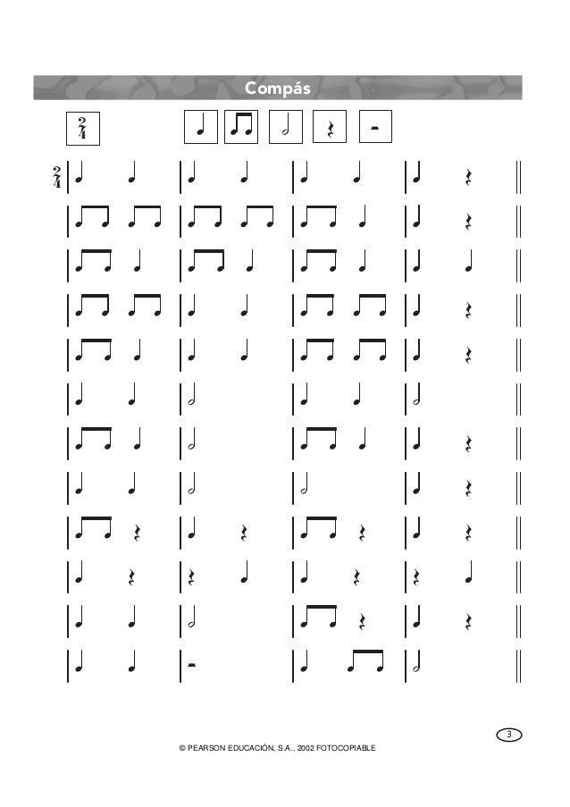 ejercicios de lectura musical para piano pdf