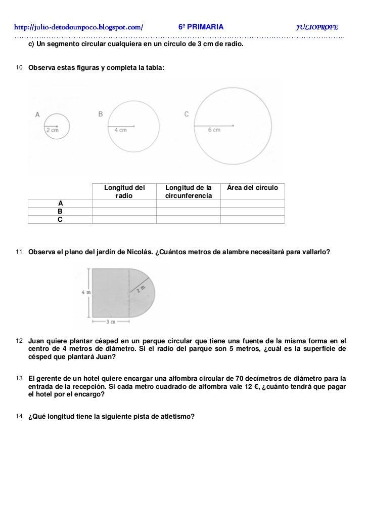 Ejercicios solucionarios circunferencia y c rculo for Cuanto es un cuarto de hora