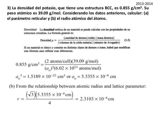 Ejercicios Tema 3 1 Estructura Cristalina
