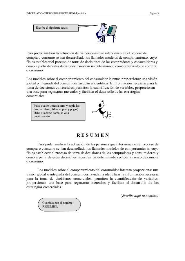 Ejercicios word Slide 3