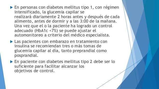 Diabetes: Ejercicio y automonitoreo de la glucemia