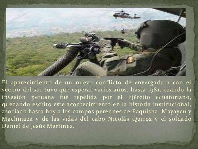 No obstante, no fue hasta el año de 1995, cuando las Fuerzas  Armadas y su Ejército logran el triunfo histórico e  indiscu...