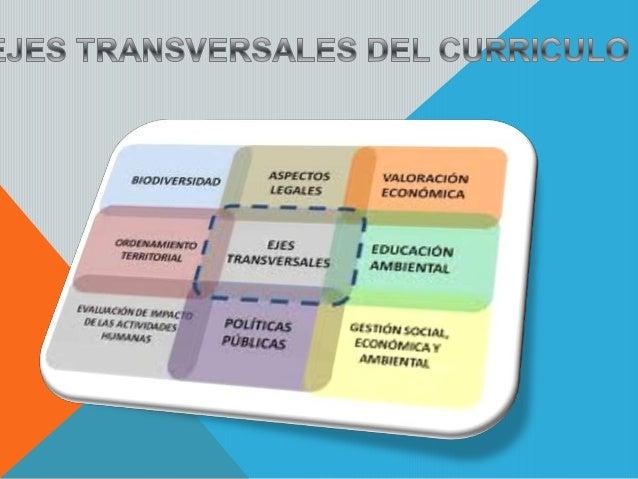 1.- ¿Qué ejes transversales sugiere desarrollar el Ministerio de Educación? Sugiere temas relacionados con los grandes pro...
