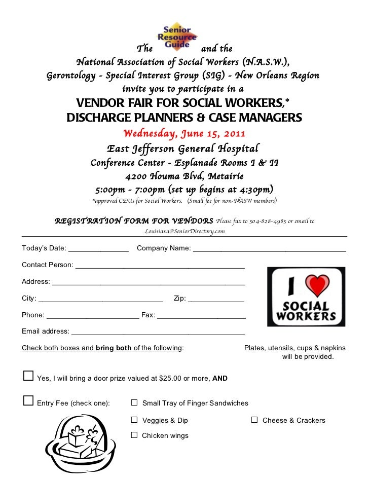 Ejgh Vendor Fair Vendor Registration Form 2011 – Vendor Registration Form