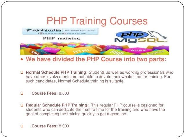 Ejobindia php training institute kolkata Slide 3