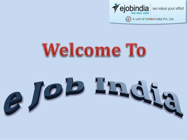 Backed by a team of professionals, Ejobindia enables each fresher to build up a dream career in Software Industry. Since i...