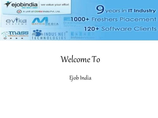 Welcome To Ejob India
