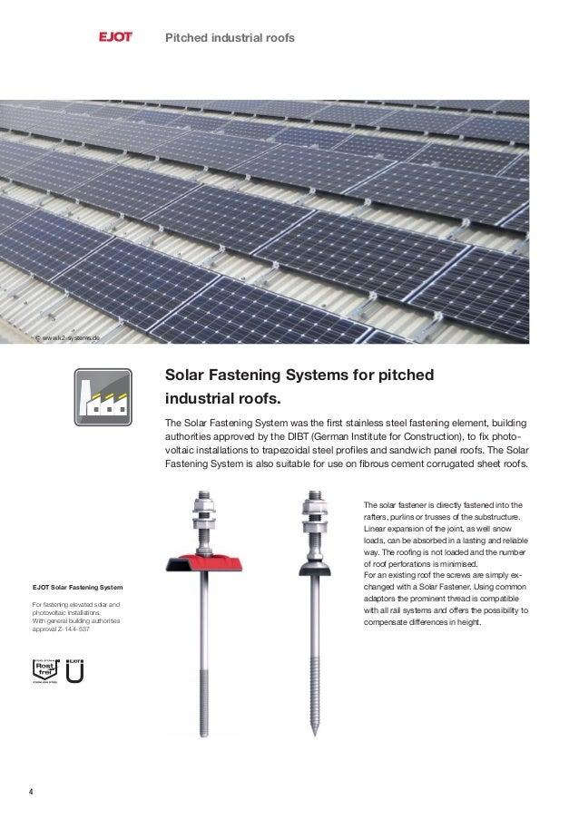 Ejot Solar Brochure