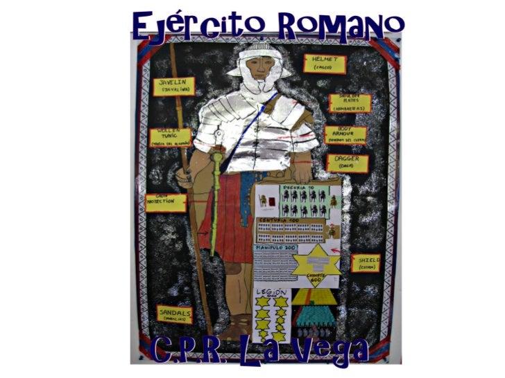 Ejército romano - Ancient Rome Army - C.P.R. La Vega
