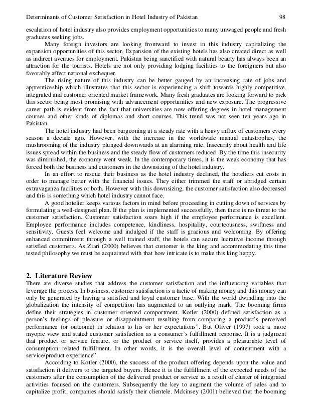 hotel thesis pdf
