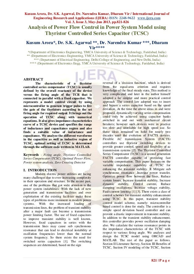 Kusum Arora, Dr. S.K. Agarwal, Dr. Narendra Kumar, Dharam Vir / International Journal ofEngineering Research and Applicati...