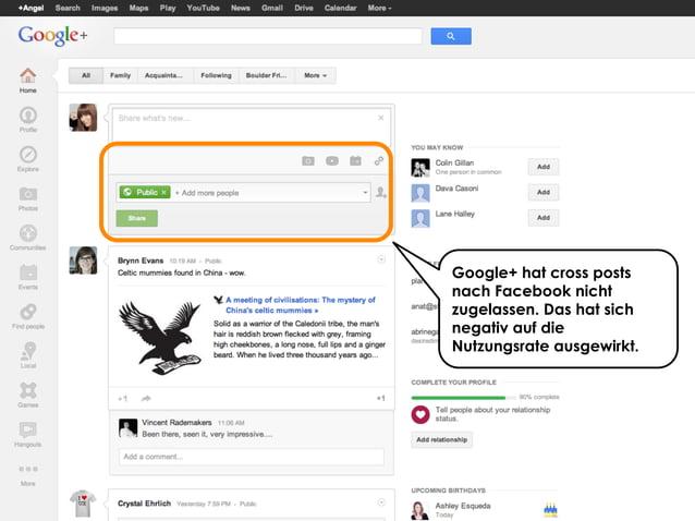 Share with me @ripanti #isarcamp # mww13 #sharing 34Google+ hat cross postsnach Facebook nichtzugelassen. Das hat sichnega...