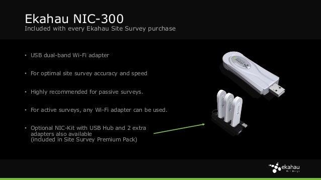Ekahau SIte Survey, 3D Planner & Other Wi-Fi Tools Presentation