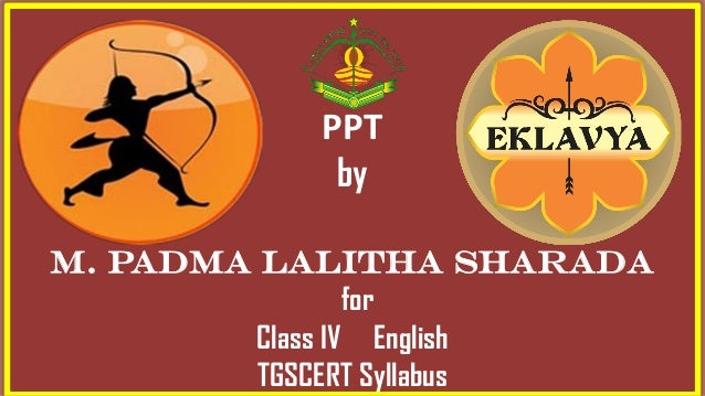 PPT by m. padma lalitha sharada for Class IV English TGSCERT Syllabus