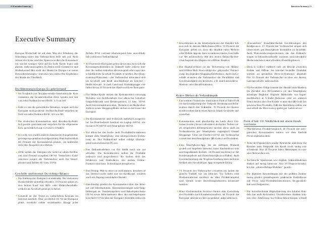 Europa Konsumbarometer 2014:  Europas Verbraucher fordern das Beste aus virtueller und stationärer Einkaufswelt Slide 3