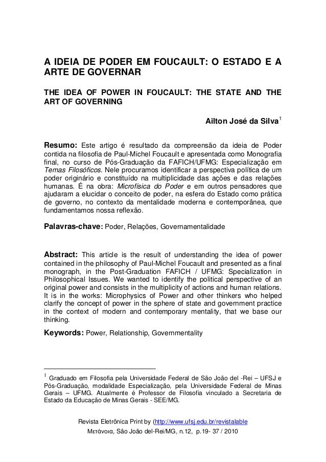 Revista Eletrônica Print by (http://www.ufsj.edu.br/revistalable Μετάνοια, São João del-Rei/MG, n.12, p.19- 37 / 2010 A ID...