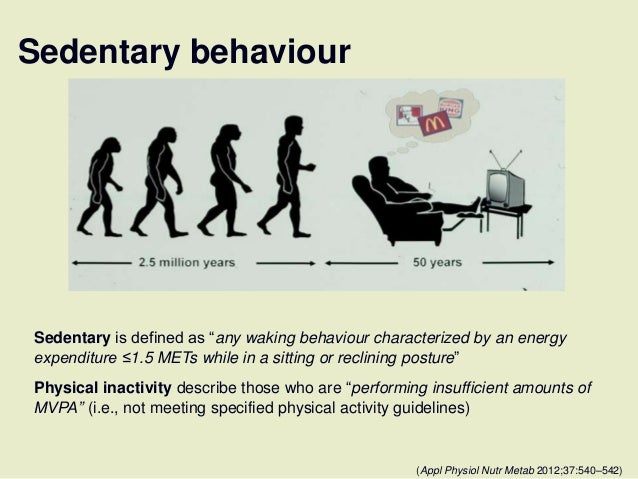 sedentary behaviour meeting physical activty guidelines
