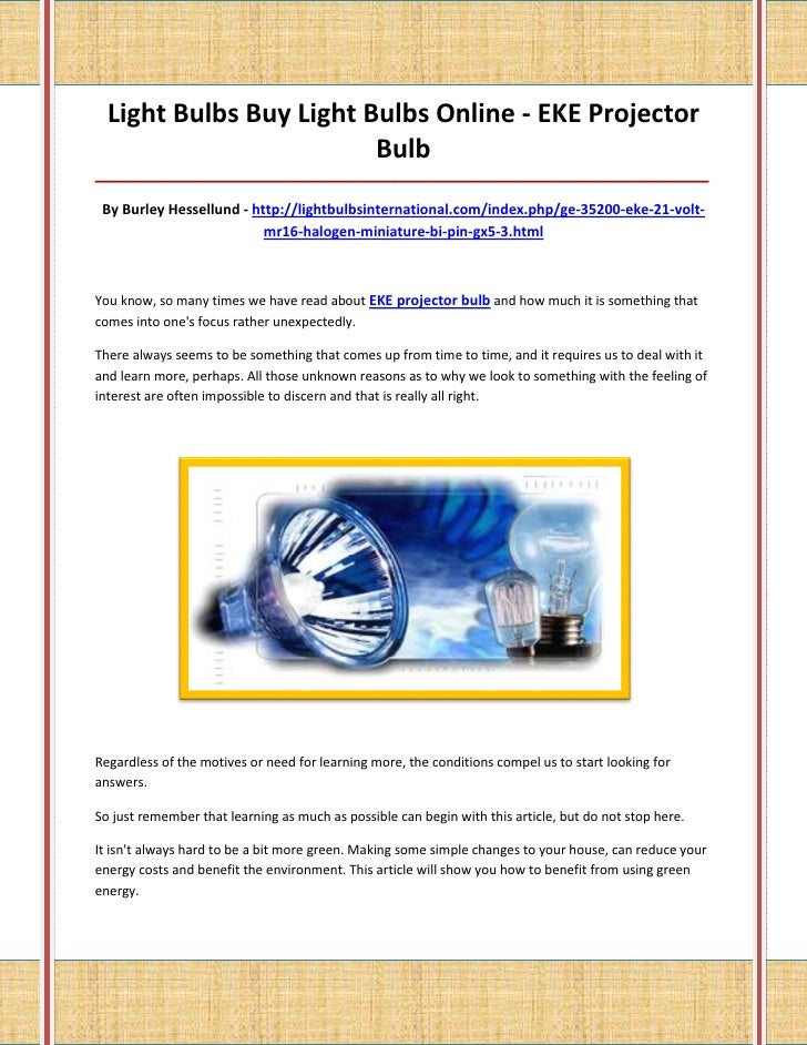Light Bulbs Buy Light Bulbs Online - EKE Projector                         Bulb___________________________________________...