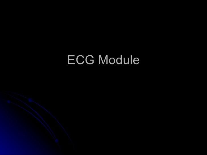 ECG Module