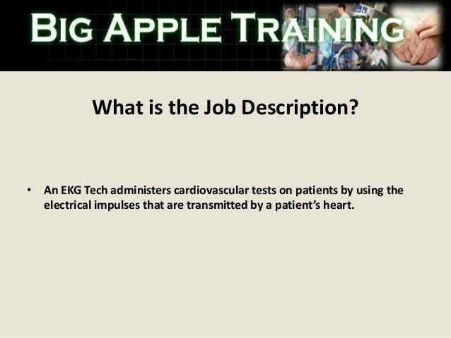 EKG Technician Training in Westchester