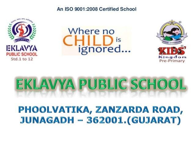 An ISO 9001:2008 Certified School