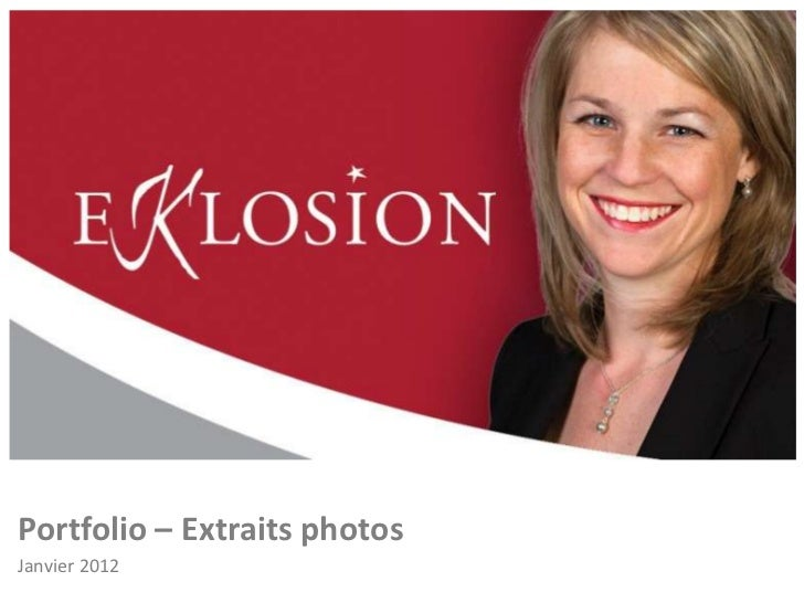 Portfolio – Extraits photosJanvier 2012
