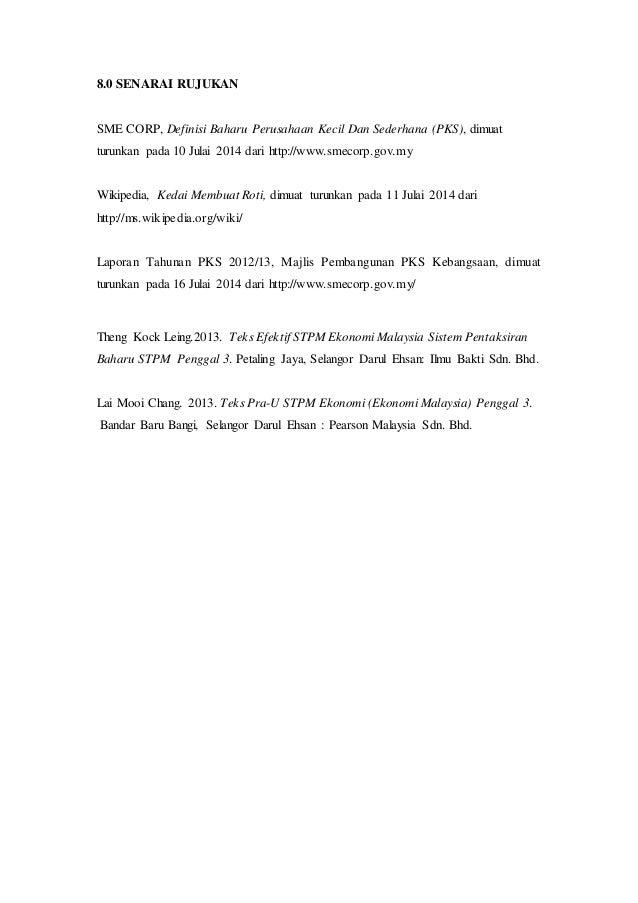 Kerja Kursus Ekonomi Stpm 2014 Assignment