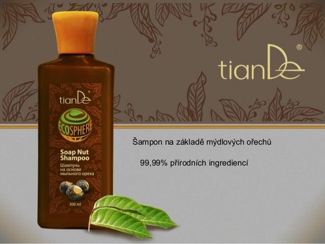 Šampon na základě mýdlových ořechů 99,99% přírodních ingrediencí