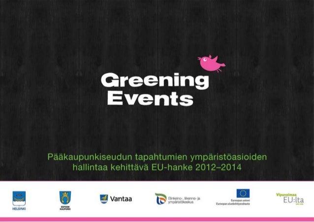 Ekokompassi tapahtuma -  ympäristöjärjestelmä Salla Koivusalo, projektikoordinaattori