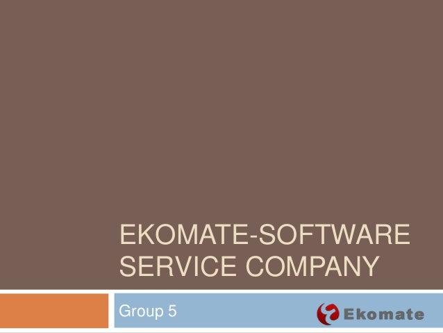 ekomate case study