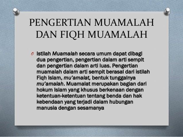 MUAMALAT DALAM ISLAM EPUB