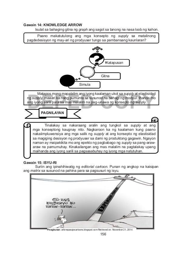 746f60c7 Ekonomiks Learning Module Yunit 2