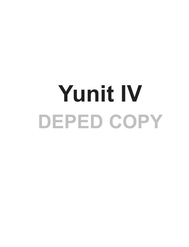 329 DEPED COPY Yunit IV