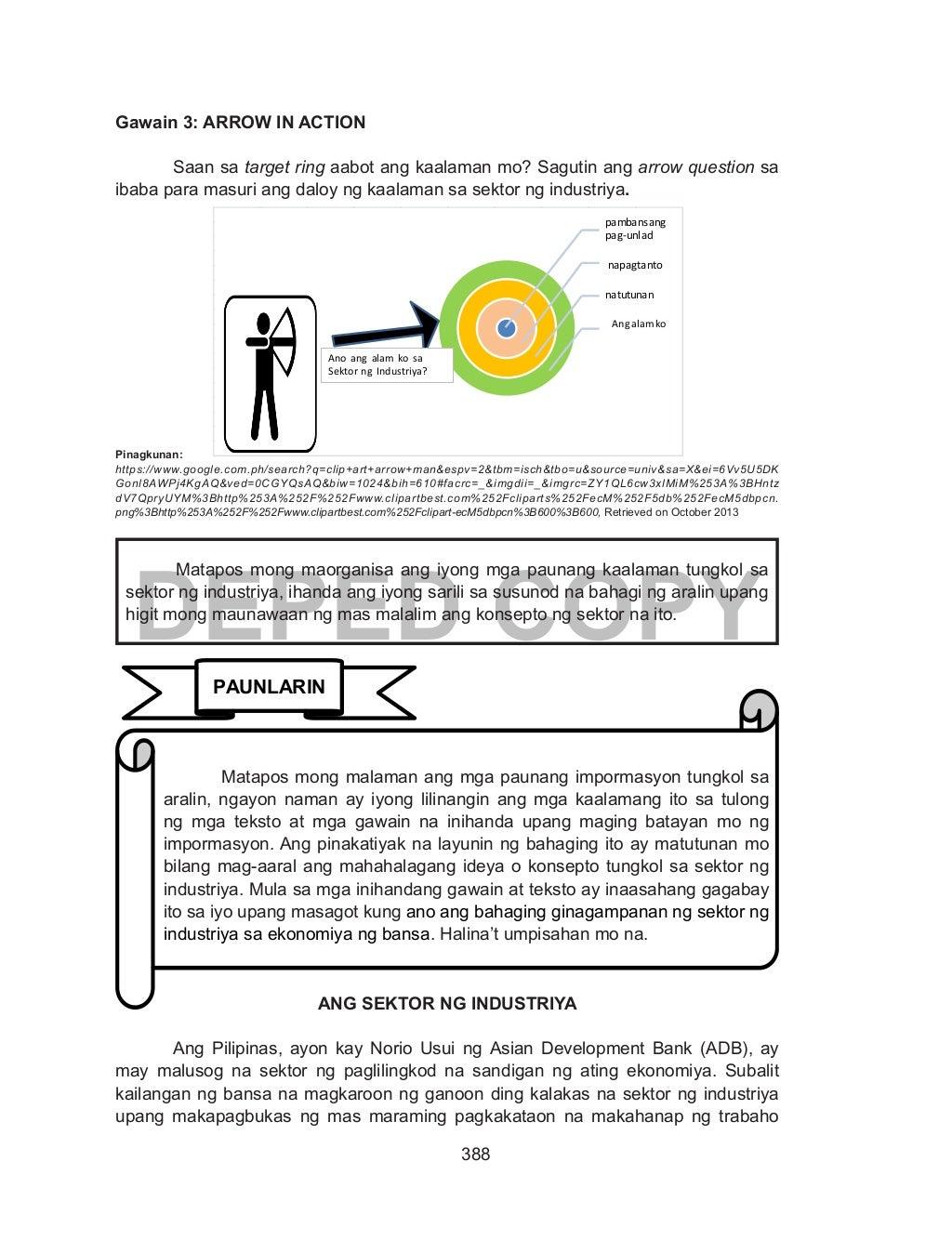 Ekonomiks Learning Module Yunit 4