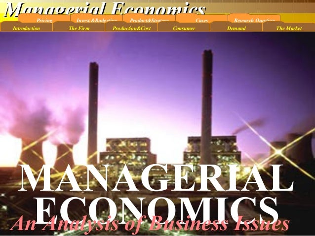 Managerial EconomicsManagerial EconomicsPricing Program Pascasarjana, Universitas Gunadarma, Magister Management , Budi He...