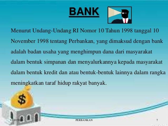 Perbankan, Otoritas Jasa Keuangan, Bank Perkreditan Rakyat ...
