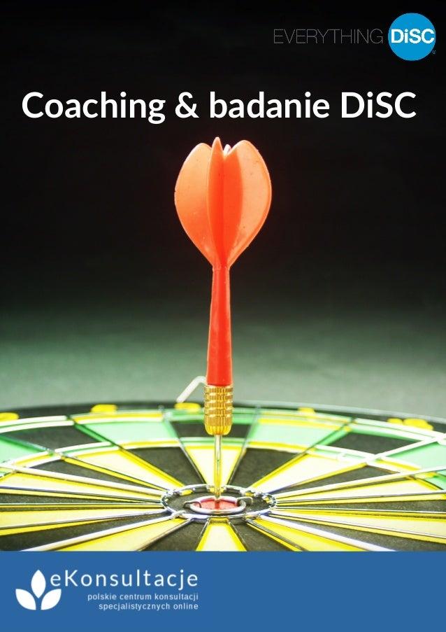 Coaching & badanie DiSC