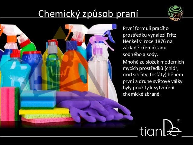 První formulí pracího prostředku vynalezl Fritz Henkel v roce 1876 na základě křemičitanu sodného a sody. Mnohé ze složek ...